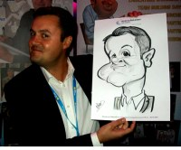 A Crewe Chester Manchester Caricature Artist For Hire